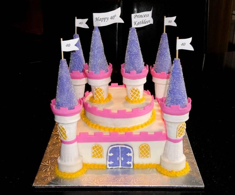 40th Birthday Princess Castle