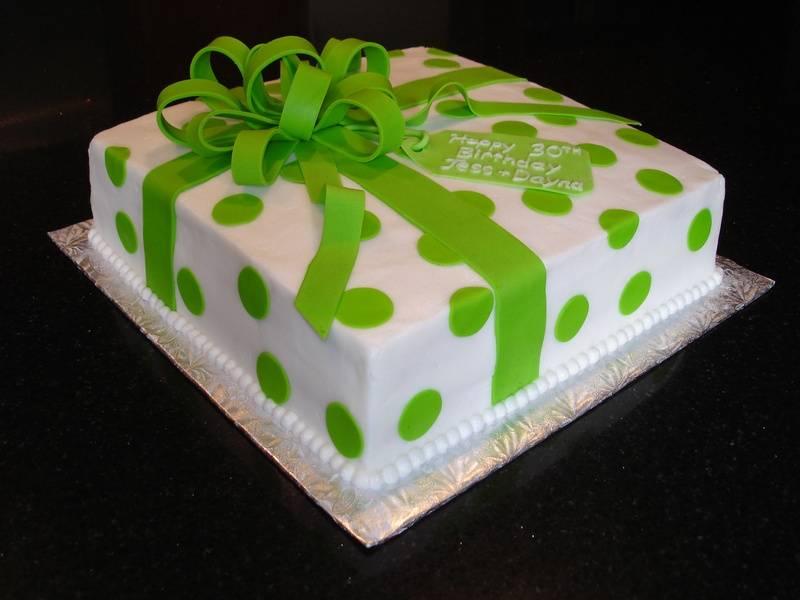 30th Birthday Present Cake for Jess & Dayna