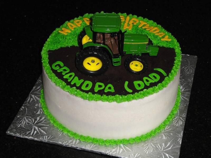 88th Birthday - John Deere Theme Cake
