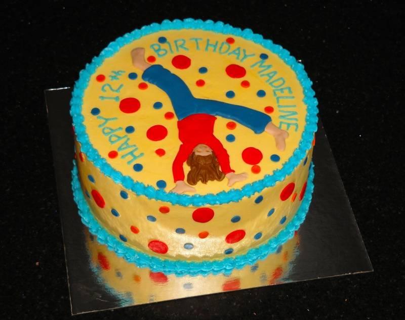 Cartwheel Birthday Cake