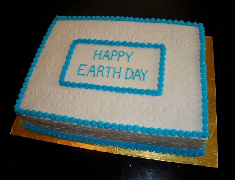 Earth Day Celebration Cake