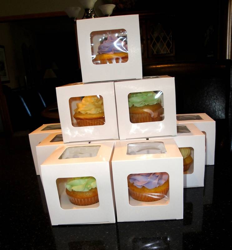 Individually Packaged Cupcakes
