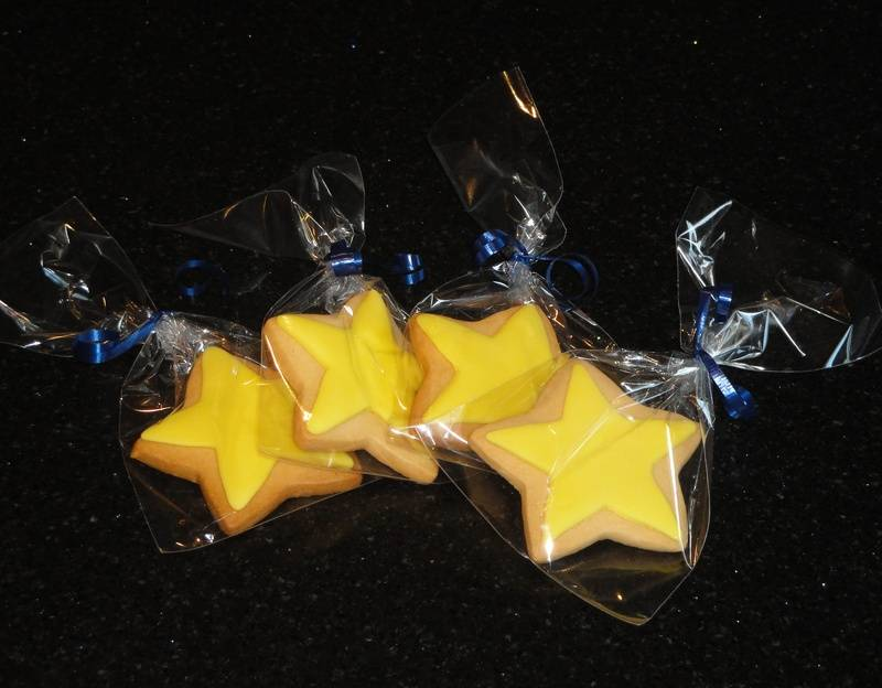 Cookie Favour Stars