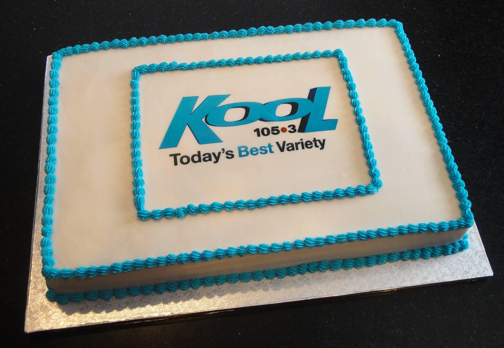 Kool 105.3 Cake