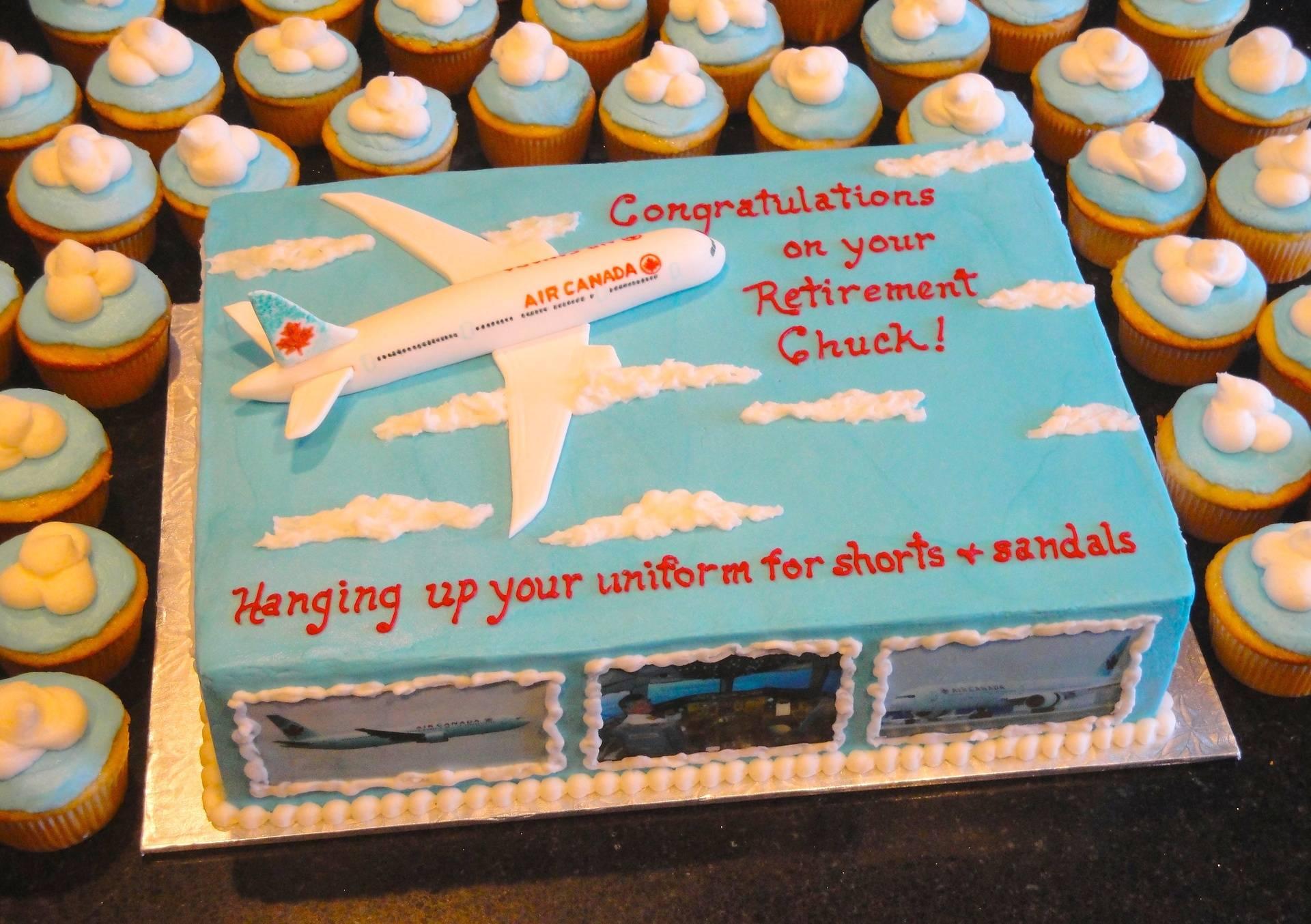Air Canada Pilot Retirement Celebration