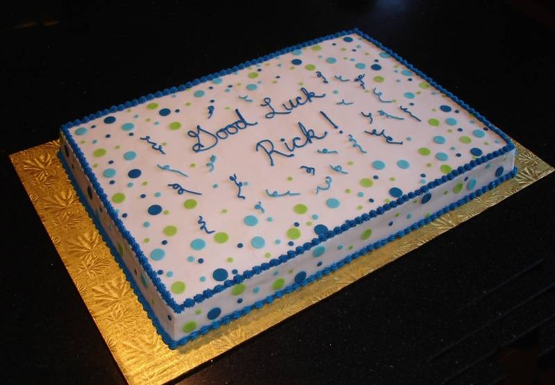 Retirement Celebration Cake