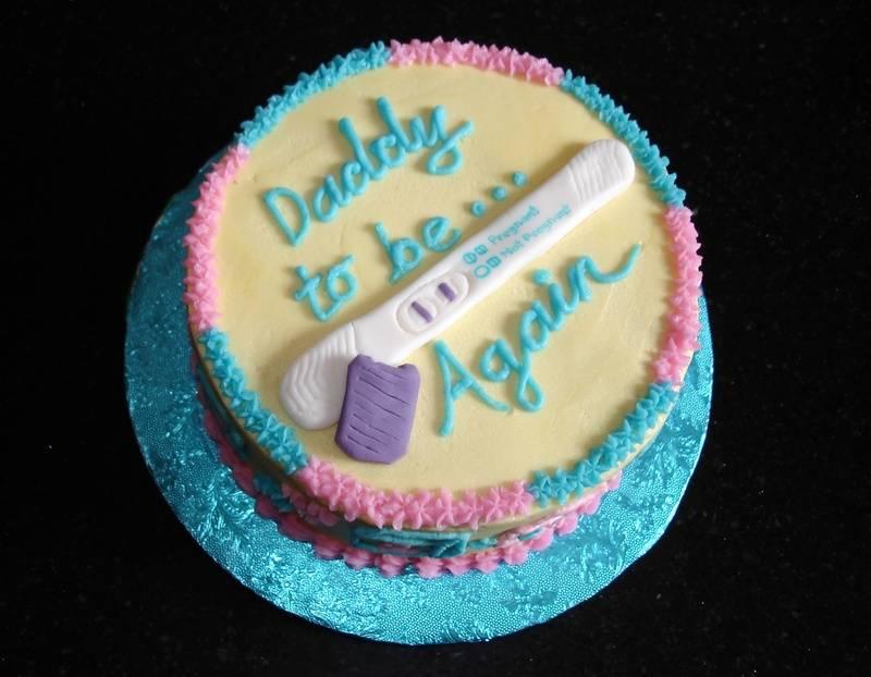 Expecting Again Cake