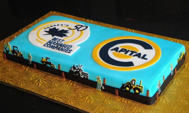 Capital Paving Corporate Cake
