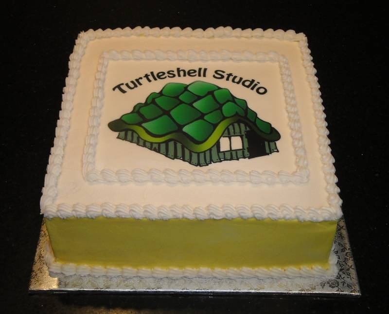 Turtleshell Studio Celebration Cake
