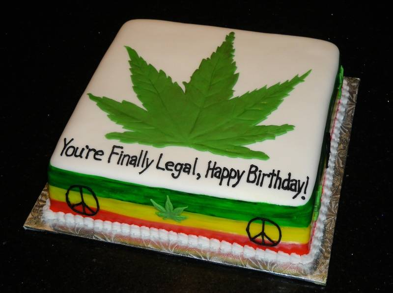 Finally Legal Birthday Cake