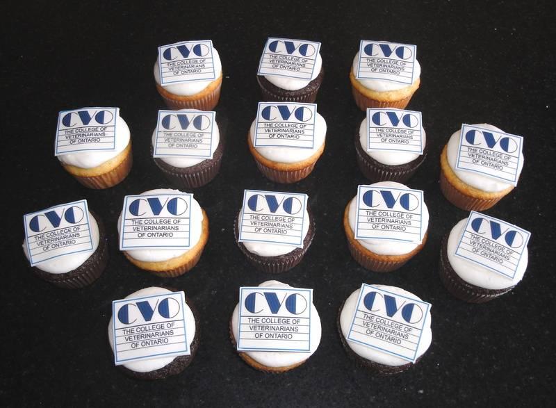 College of Veterinarians of Ontario Cupcakes