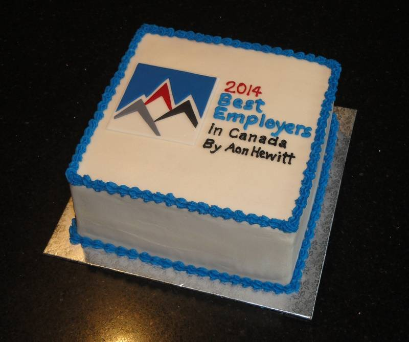 Best Employers Corporate Cake