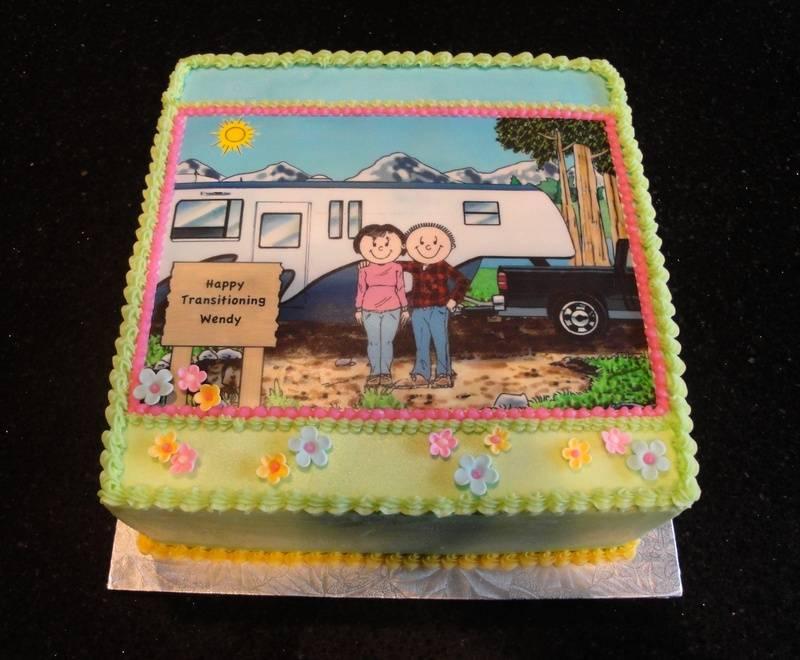 Transitioning / Retirement Cake