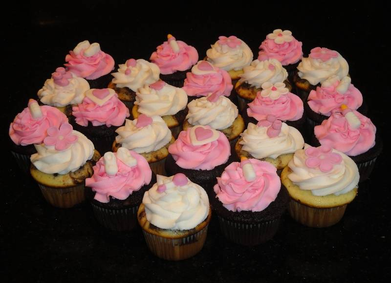 Baby Shower Cupcales