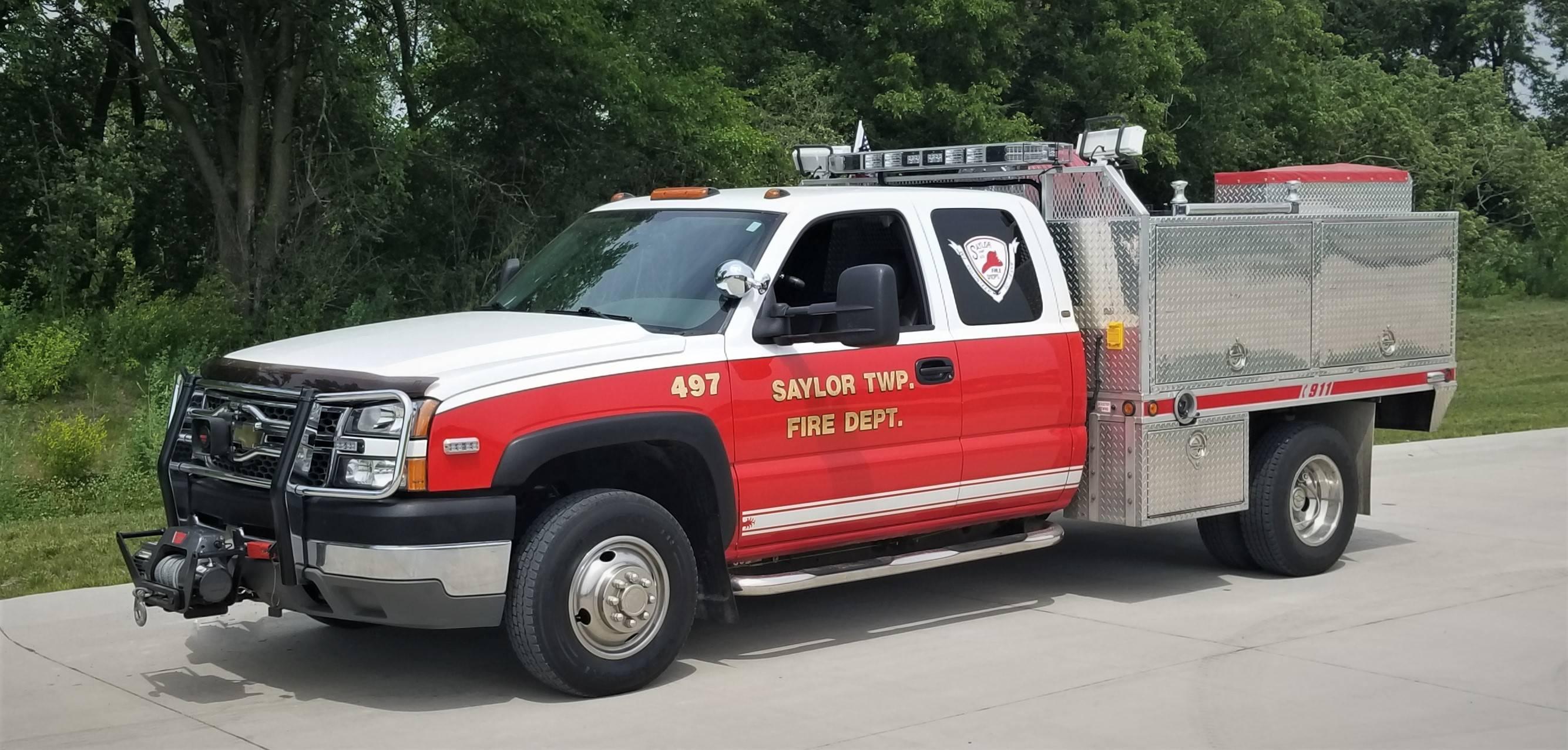 497 - Brush Truck