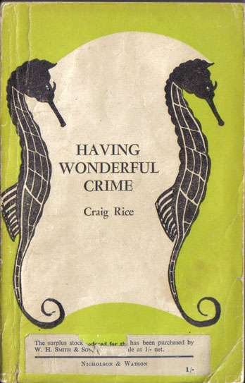 NW5 Having wonderful crime