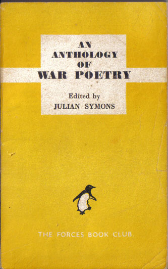 An anthology of war poetry