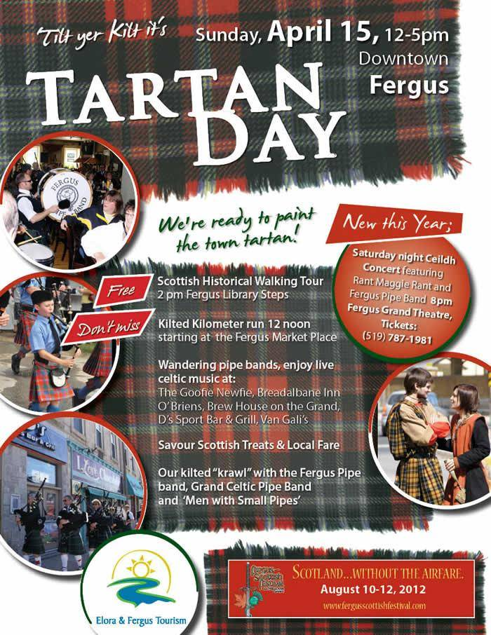 Tartan Day Fergus