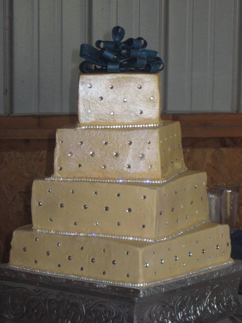 Glitzy Wedding Cake