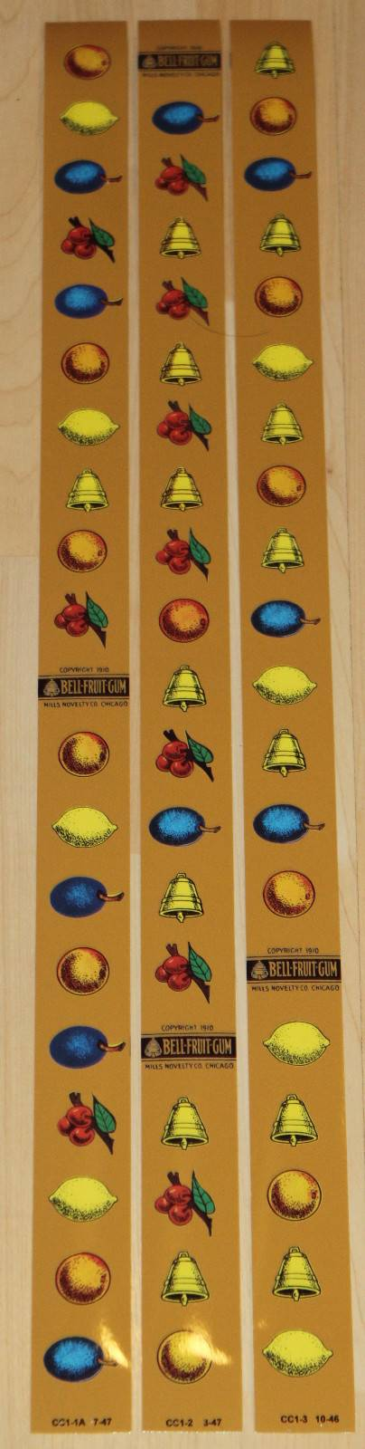Slot Machine Reel Strips