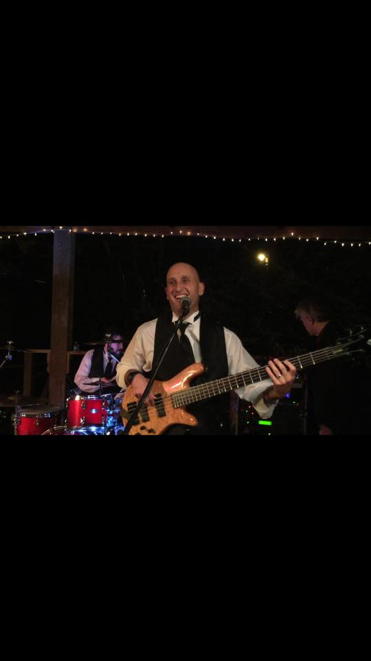 Playing in Texas at my buddy's wedding