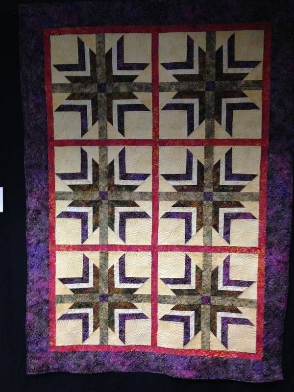 """Mo Starkey """"The Wales Wedding Quilt"""""""