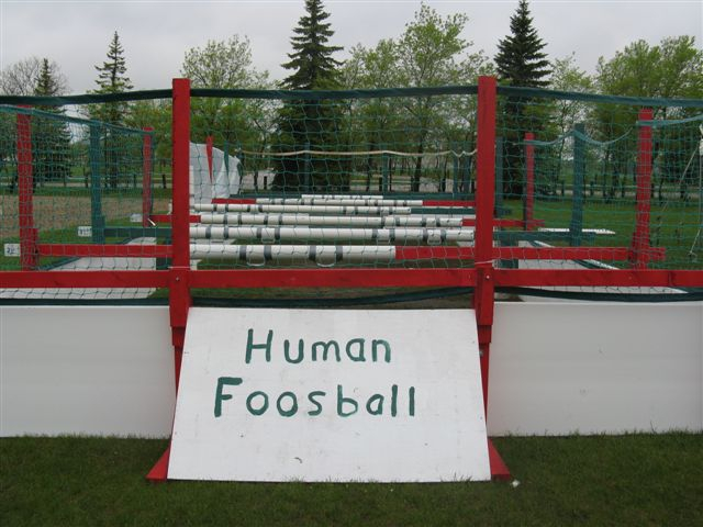 Human Foosball