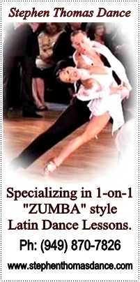 "Stephen Thomas Dance - Specializing in 1-on-1 Cardio Latin Fitness Sessions, ""Zumba"" Style!"