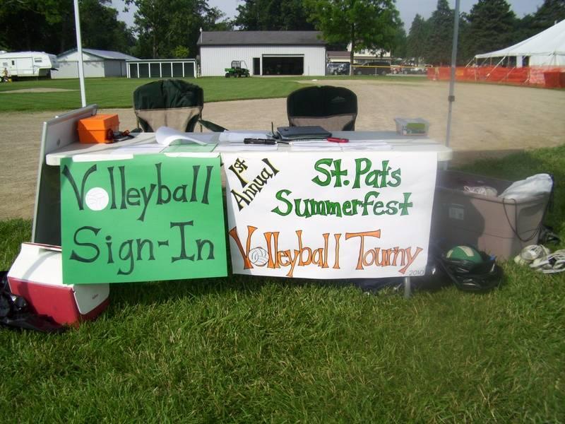 Saturday Volleyball Tournament