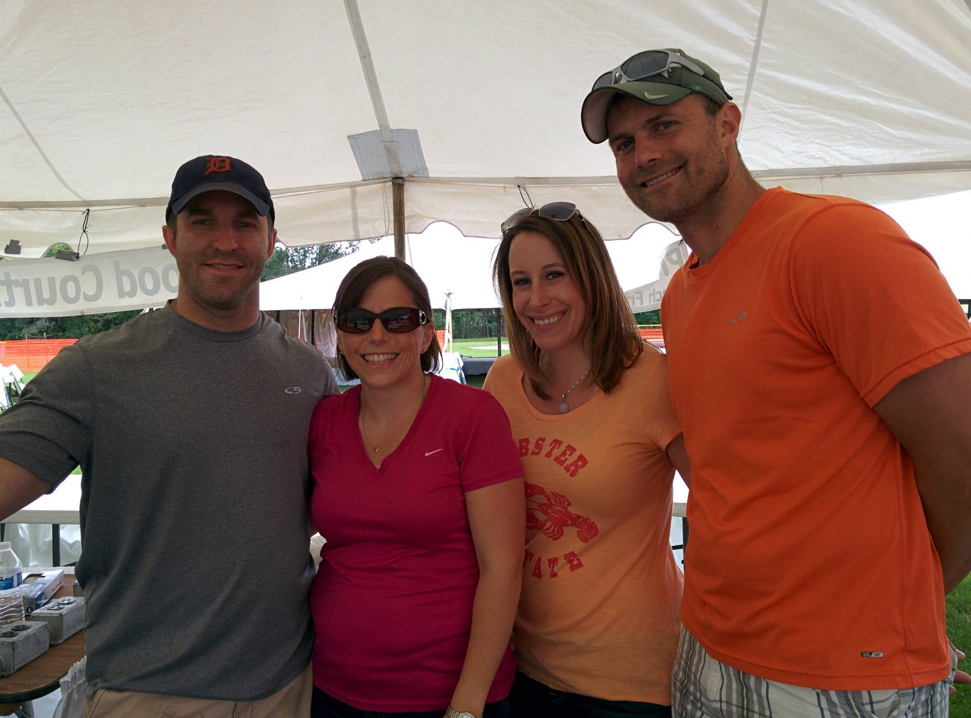 The food tent interns.  Next year they will take over.