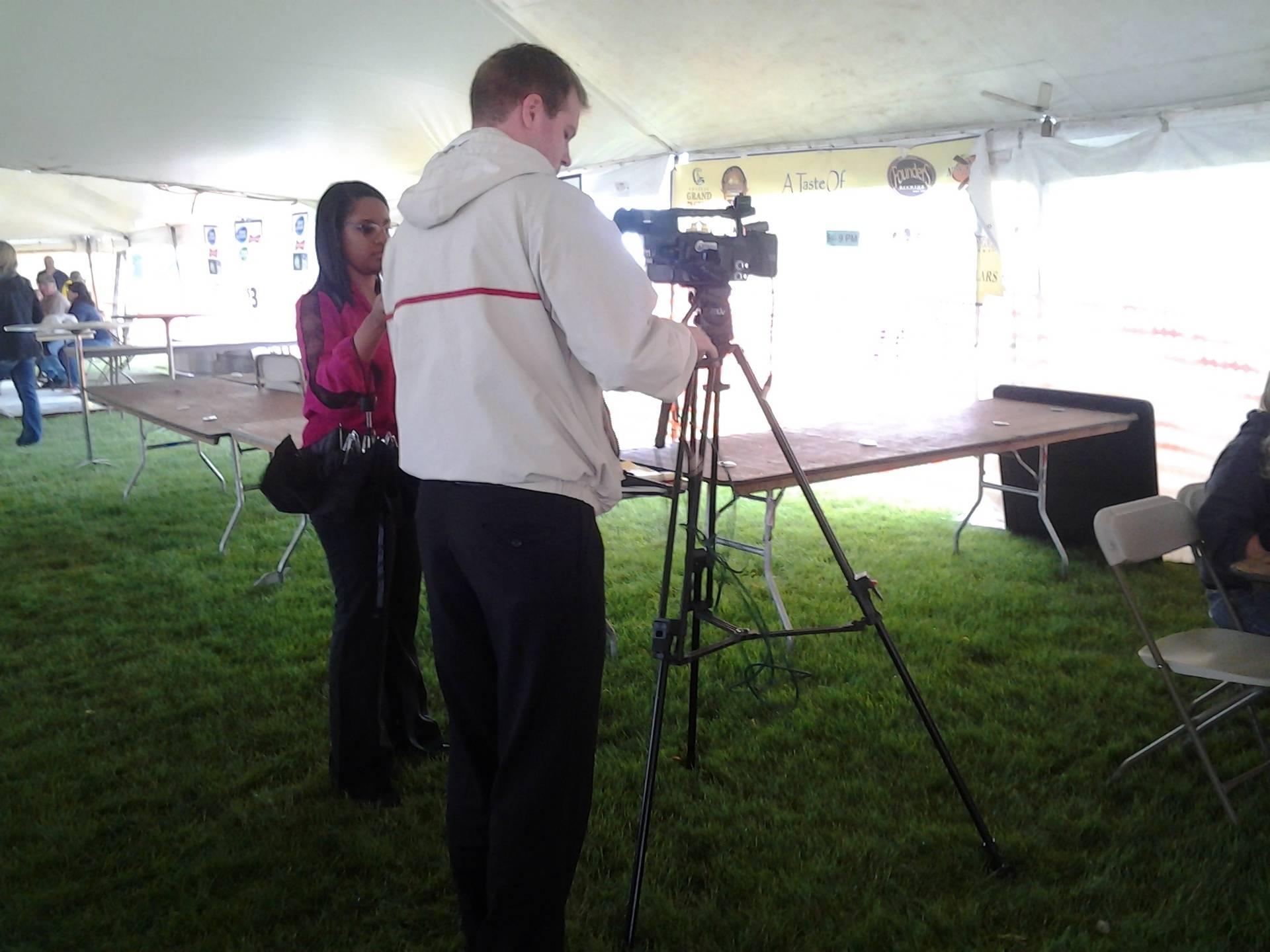 Another TV crew