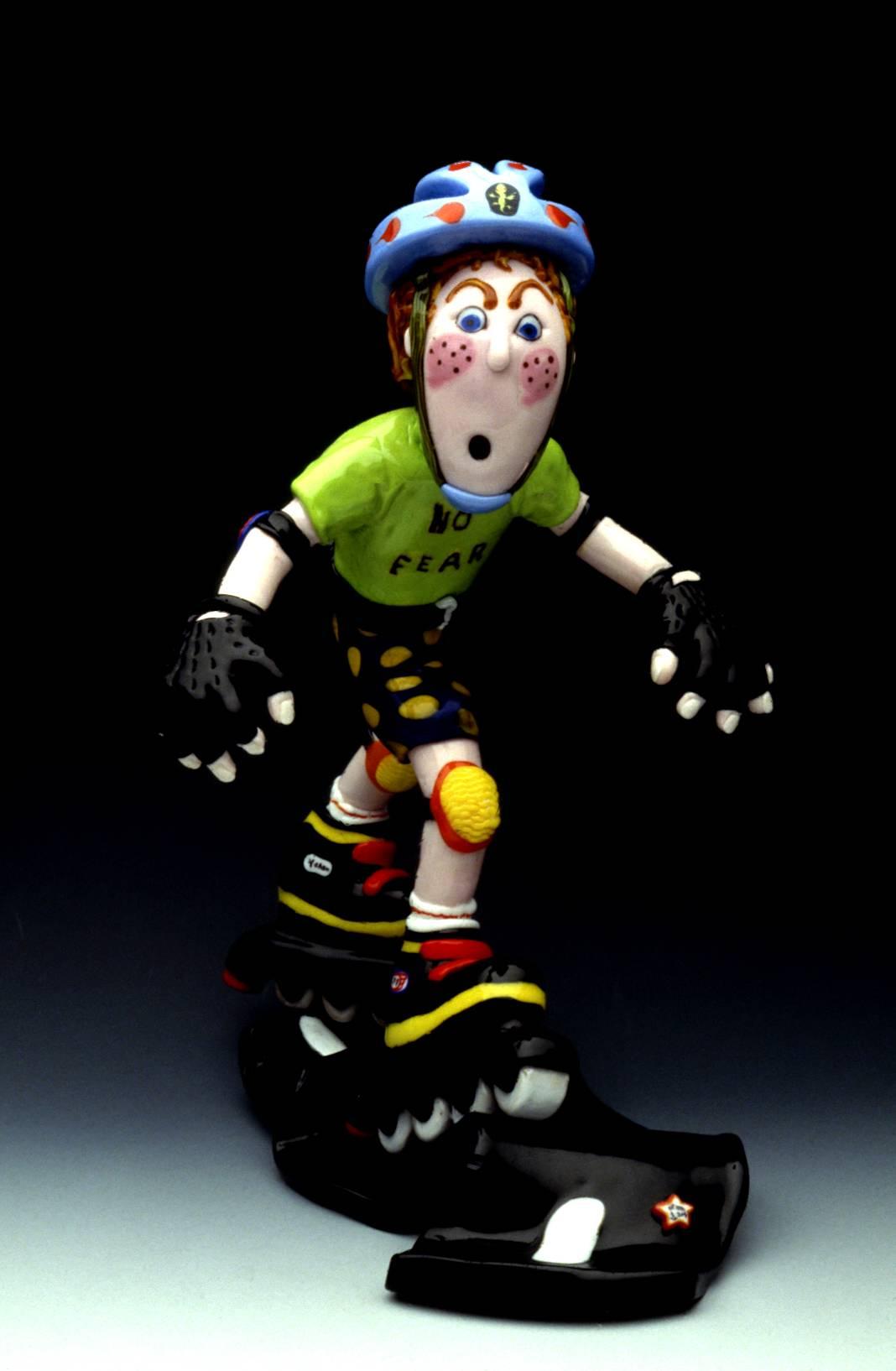 No Fear Skater Dude