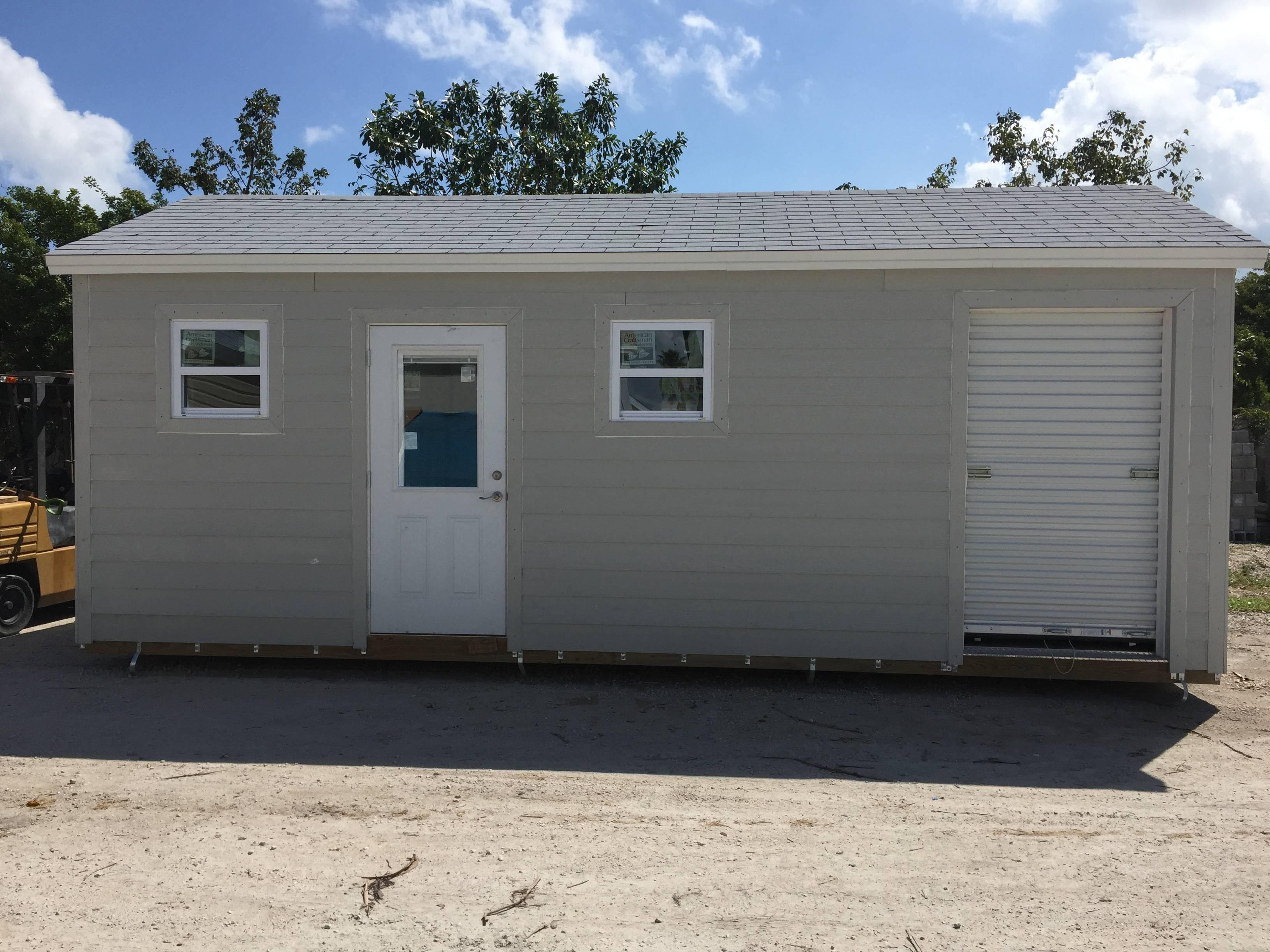 12x24 , hardie plank, 8 walls , home door