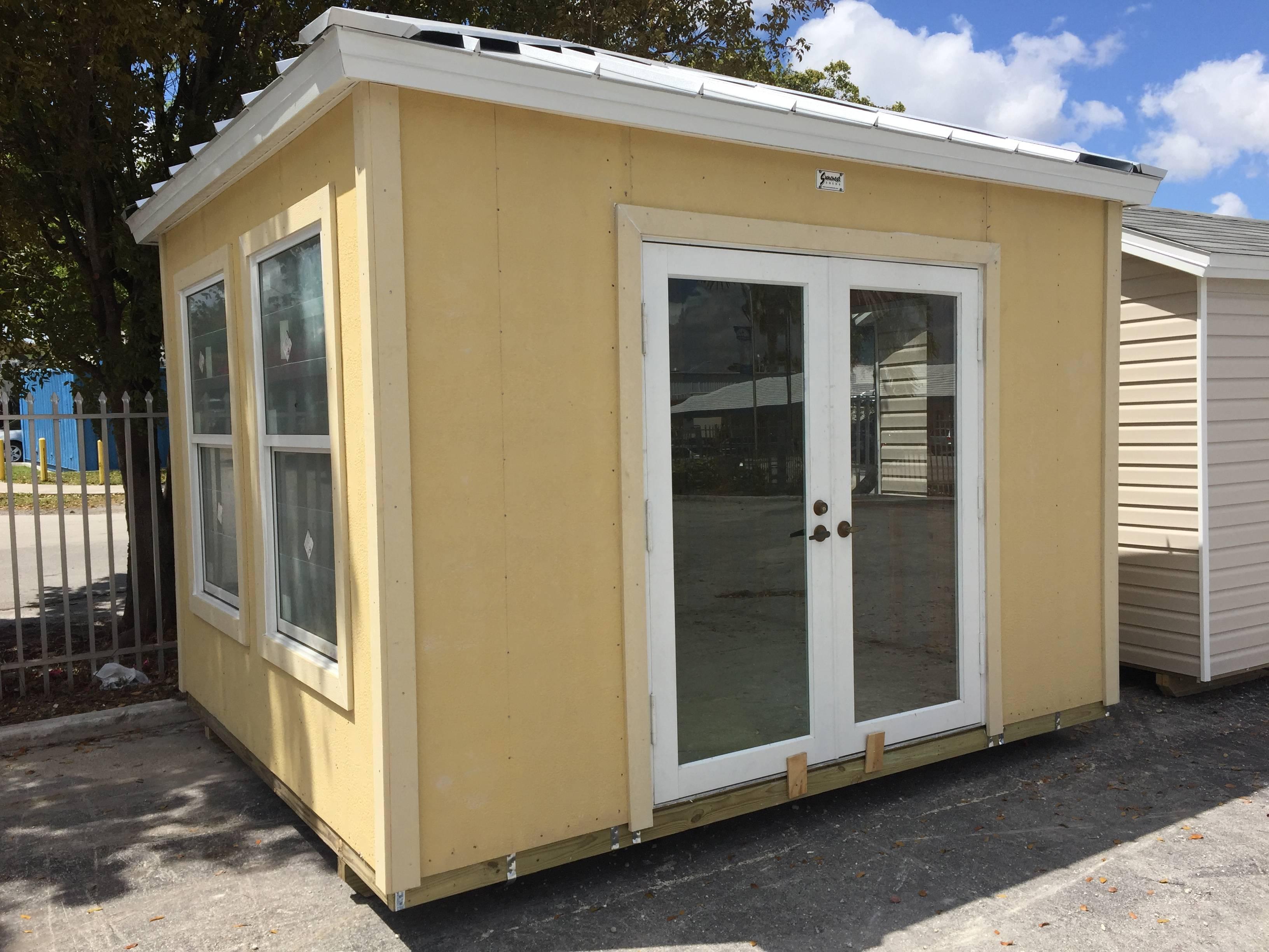12x10 , office , home door , pool house