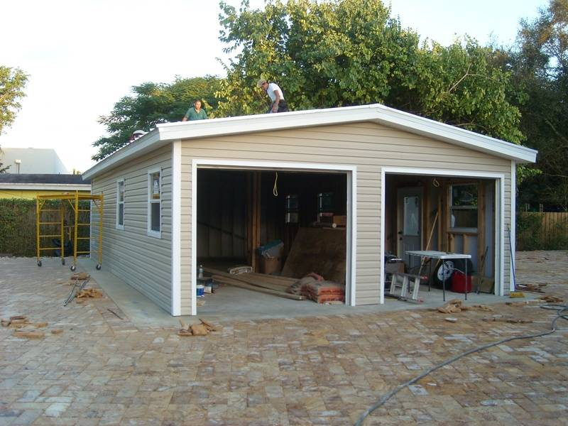 Built on site 24x26 on concreat floor