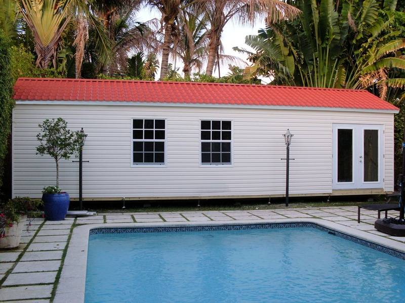 12x36 Pool House / home office / workshop