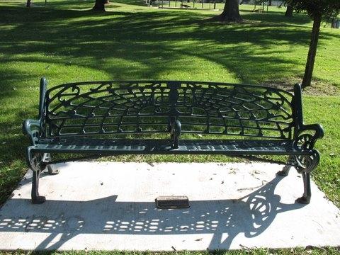Sundance Bench at Grupe Park
