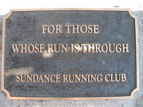 Sundance Plaque
