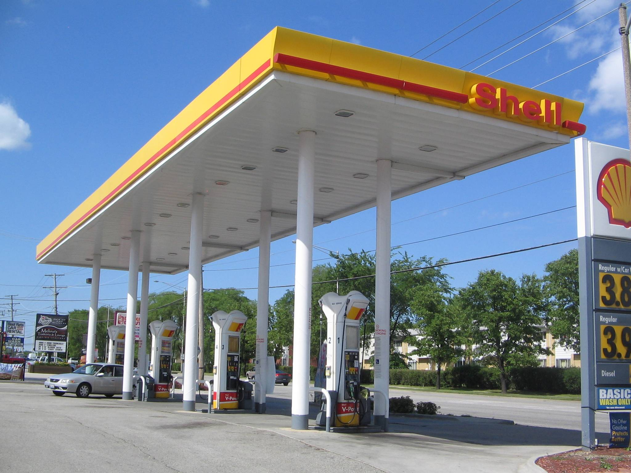 York Shell Gas Station, Elmhurst