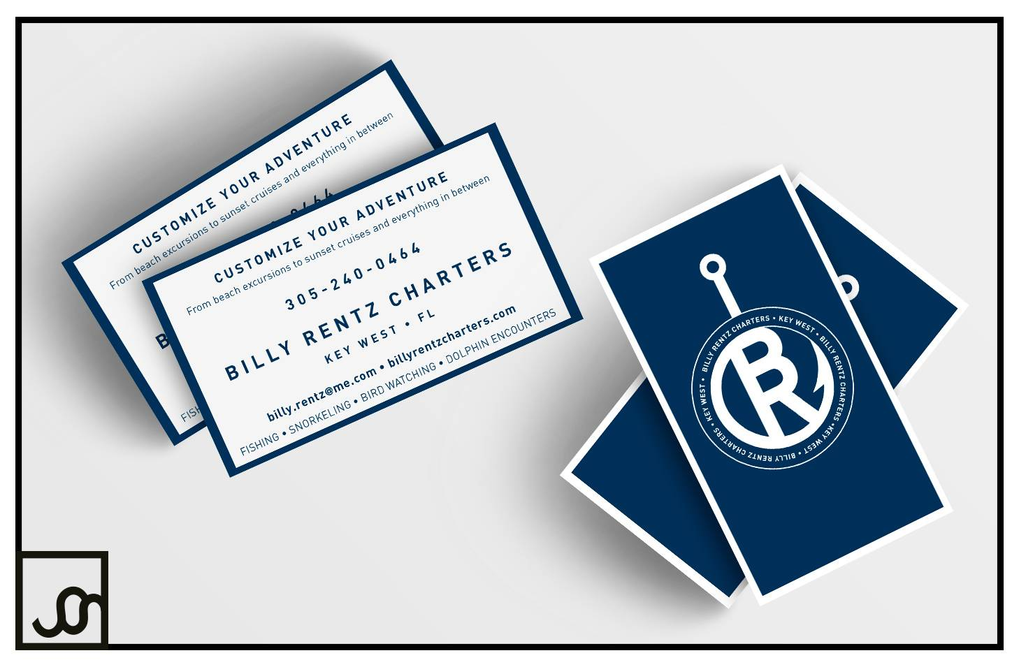 Billy Rentz Charters Business Cards