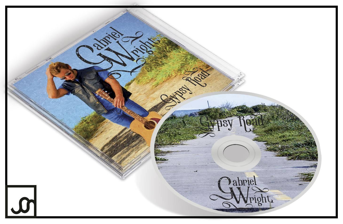 Gabriel Wright Artisti/Musician CD Layout