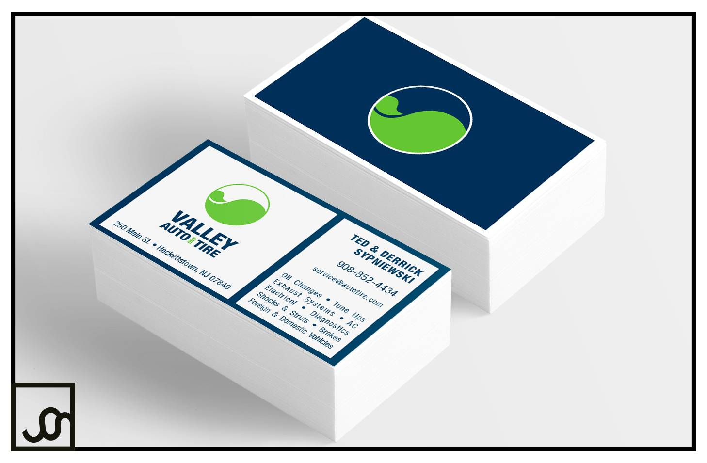 Valley Auto Business Cards