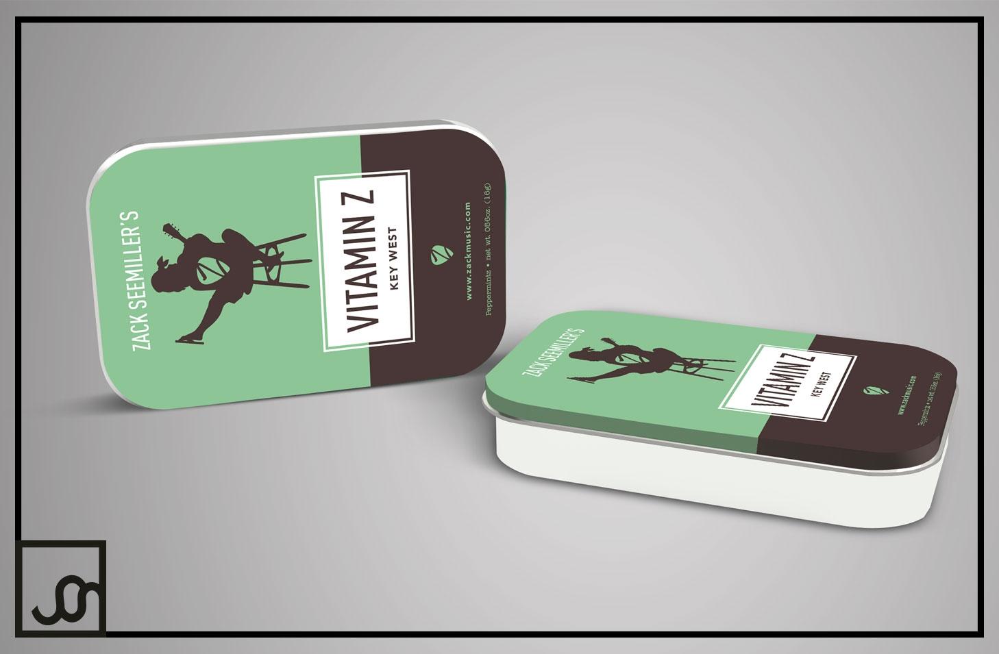 Mint Tin Box Packaging