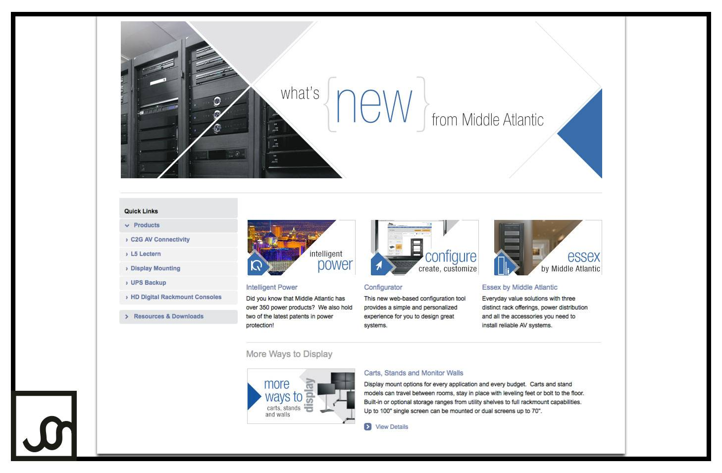 What's New Web Page