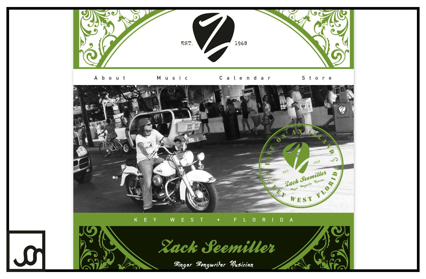 Zack Seemiller Musician Web Page