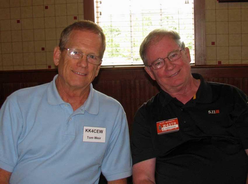 Tom KK4CEW (Guest) and Russ W4STR
