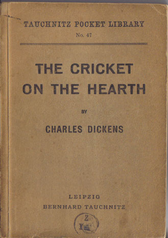 I47 The Cricket on the Hearth