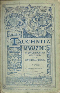 Tauchnitz Magazine  August 1892