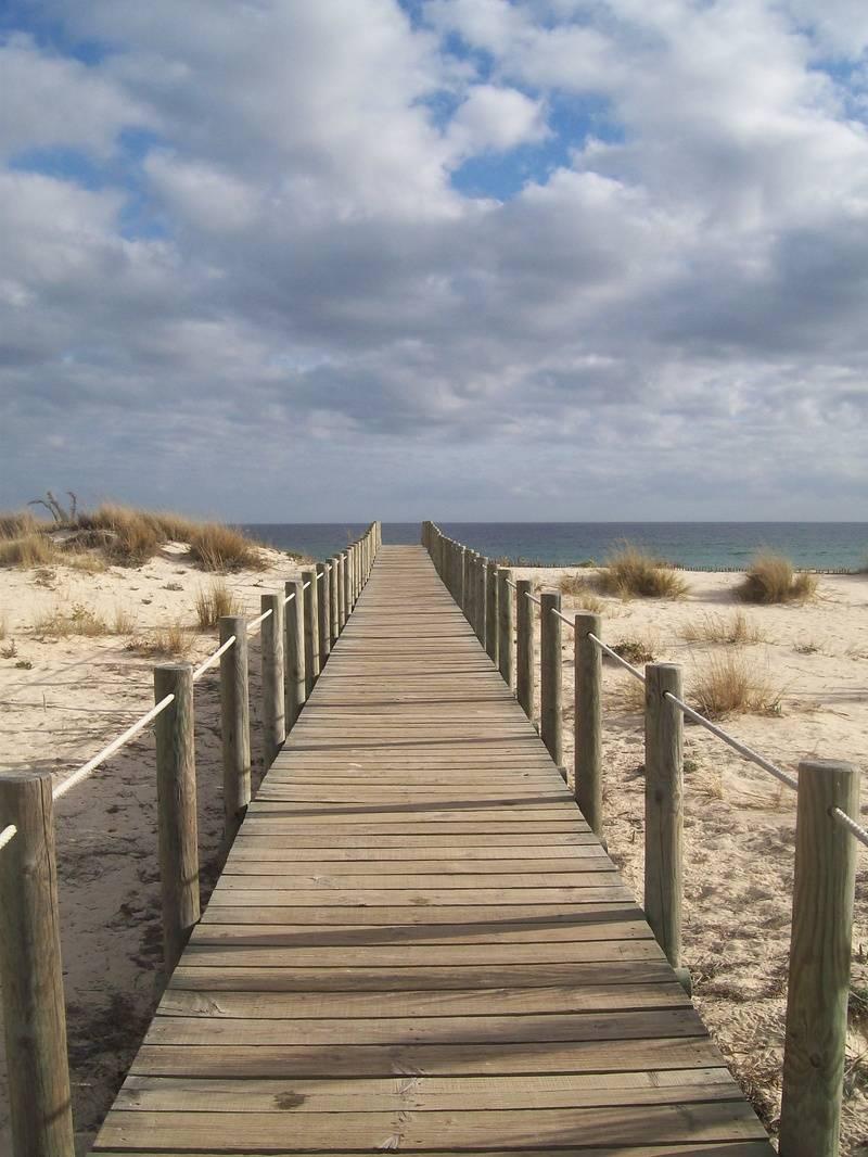 Boardwalk to Barilla Beach