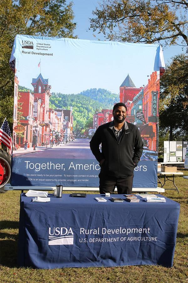 USDA booth